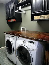 laundry room countertop diy laundry room counter ideas addition