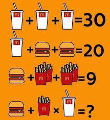 i m all for a bit of casual mathematics but this problem is rather disappointing the deduction required to solve it is trivial
