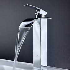 faucets for bathroom sinks. contemporary waterfall bathroom sink faucet 8061 faucets for sinks