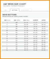 American Eagle Size Chart Mens Jeans American Eagle Jean Sizes Compared To Hollister Victoriajacobs
