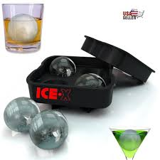 ice maker round sphere tray mold cube whiskey ball cocktails silicone