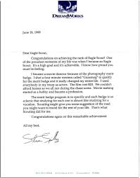 Eagle Scout Letter Of Recommendation Adorable Check Out 48 Of The Coolest Eagle Scout Letters I've Seen Bryan On