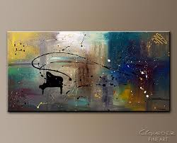 jazz night abstract art painting image by carmen guedez