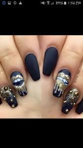 nail polish : Stunning Black Nail Polish Stunning Nail Art Design ...