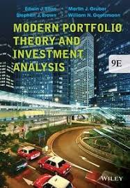 Modern Portfolio Theory And Investment Analysis 9Th Edition Test ...