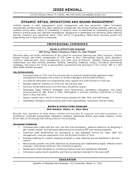 assistant operations manager resume operations manager resume operations manager skills on resume