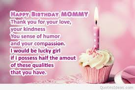 Birthday Quotes For Mom Classy Top Happy Birthday Mom Quotes