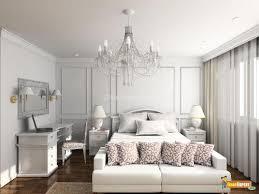 Elegant White Bedroom Design