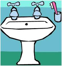 cartoon bathroom sink and mirror. Perfect And Bathroom Sink And Mirror  Luxury Cartoon For And