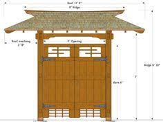 Small Picture Japanese Gate Plans Gate design by Karl Daizen Joinery Zen