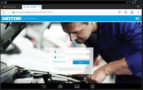 if you have motor etech account you will be able to login directly