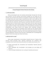 Contoh Proposal Festival Budaya Ilmusosial Id