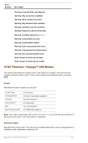 ti 89 titanium voyage 200 modes texas instruments titanium ti 89 user manual page 920 1008