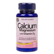 Holland & Barrett <b>Calcium</b> and <b>Magnesium with Vitamin</b> D3 120 ...