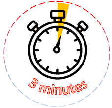 Three Minutes Timer 3 Minutes Colorful Hourglass Sandglass Sand