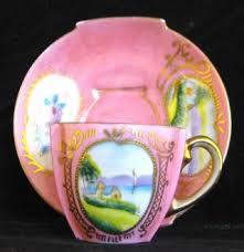 Decorative Cups And Saucers Decorative Arts Ceramics Porcelain Cups Saucers Antiques 78