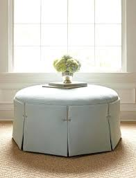 large round tufted ottoman storage coffee table