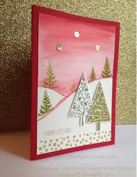 Stampin' Up Festival of Trees Watercolour background-001