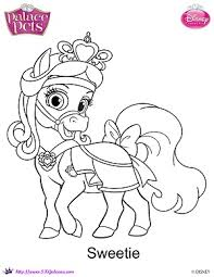 Small Picture Princess Palace Pets Sweetie coloring Page by SKGaleana on DeviantArt