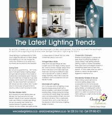 latest lighting trends. Design Lighting Trends Latest Lighting Trends S