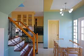 Nice Tiny House Interior Design With Blue Wall Color And Cool - Very small house interior design