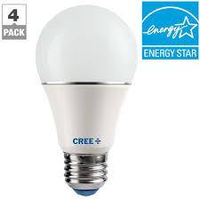 Cree 60w Equivalent Daylight 5000k A19 Dimmable Led Light Bulb Cree Lighting Led Lamps Lilianduval