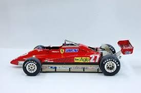 < 1982 ferrari 126 c2 ow blueprint. Buy Model Factory Hiro 1 12 Scale Ferrari 126c2 Gilles Villeneuve Full Detail Multi Media Model Kit In Cheap Price On Alibaba Com