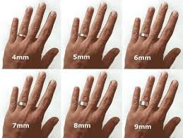 Mens Ring Width Sizes In Mm Weddings Etiquette And