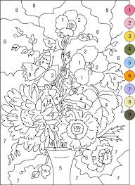 Small Picture Best 25 Color by numbers ideas on Pinterest Addition worksheets
