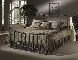 metal bedroom sets. amazon.com: hillsdale furniture 1333bqr edgewood bed set with rails, queen, magnesium pewter: kitchen \u0026 dining metal bedroom sets