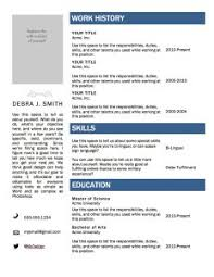 Resume Template Writing Free Online Helper Intended For Writer 81