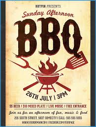 barbecue invitation template free free downloadable bbq invitation template unique 16 bbq flyer