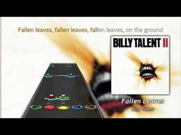 Hero Charts Nhl Billy Talent Fallen Leaves Clone Hero Chart Preview Full Difficulty