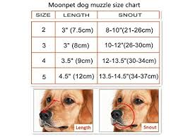 Moonpet Silicone Rubber Basket Dog Muzzle Anti Chewing