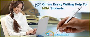 online essay writing help for mba students from com