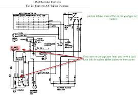 84 corvette electronic climate control, i have no power at the 1977 Corvette Starter at 77 Corvette Horn Wiring Diagram