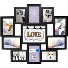 Multiple picture frames Hanging Mainstays Opening Collage Frame Black Love Ture Set Multi Frames Big Wall Wood Large Sizes Family Custom Unique Wooden Box White Bulk Small Window Square Salvamania Mainstays Opening Collage Frame Black Love Ture Set Multi Frames Big