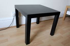 small ikea lack coffee or side table black