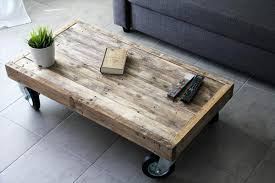 DIY Euro Pallet Coffee Table With Wheels  DYI Koffietabel Met Pallet Coffee Table On Wheels