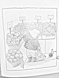 Kleurplaat Bobbi Boodschappen Bobbi Beer Sketches