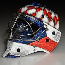 custom painted 2016 world cup of hockey goalie mask team czech republic