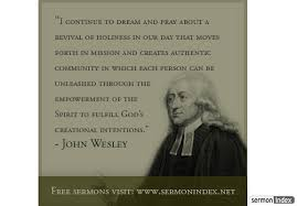 John Wesley Quotes 4 Inspiration John Wesley Quote Sermon Index