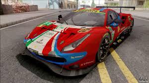 Ferrari 488 gte cars on the paul ricard circuit. Ferrari 488 Gte Evo 2018 Af Corse Pj Preset 1 For Gta San Andreas