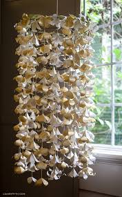 Paper Chandelier Hanging Paper Flowers Google Search Wedding This Is It