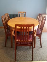 Vintage Extendable Dining Table Reduced For Quick Sale Vintage Extendable Teak Dining Table And