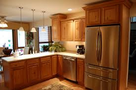 Light Brown Kitchen Cabinets Home Interior Design Perfect Dd15 Good Looking