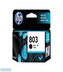 hp 803 black ink cartridge for hp deskjet 2131 printer