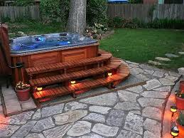 here is another wooden hot tub or spa