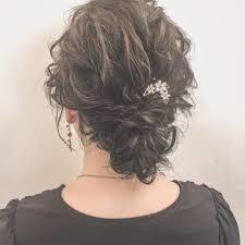 細毛軟毛さん必見2019年オススメの結婚式お呼ばれルーズヘアアレンジ