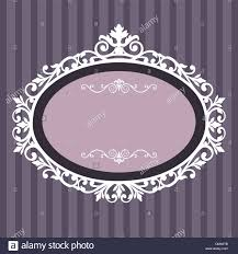 Vintage frame design oval Royalty Free Decorative Oval Vintage Frame Alamy Decorative Oval Vintage Frame Stock Vector Art Illustration